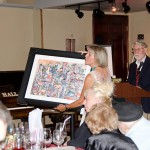 Temecula Valley Museum President Mariann Byers Displays Painting at Auction
