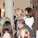 Tracy Frick, Temecula Valley Museum Services Manager, and Joanne Lamb onlooking the Gala