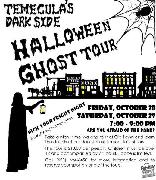 Halloween ghost tour 2016